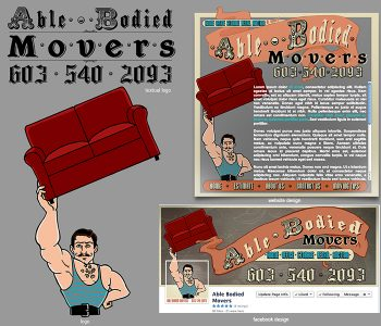 Able Bodied Movers Logos, 2013