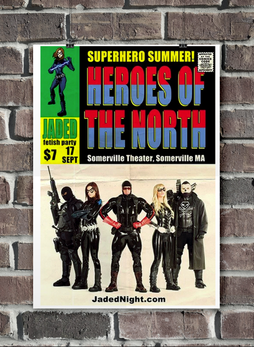Heroes of the North Promo Poster Design & Illustration