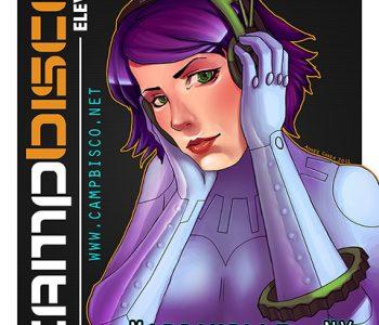 Camp Bisco Promo Poster Design & Illustration, 2012