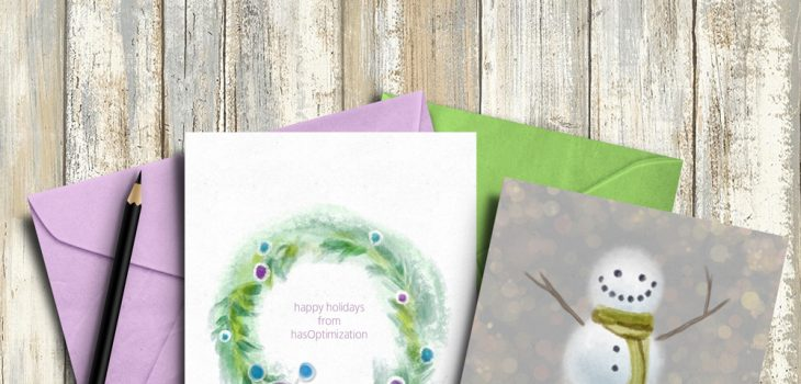 Commercial & Personal Holiday Greeting Cards, 2017