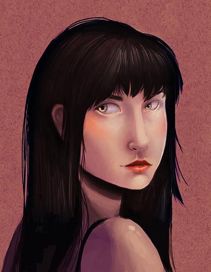 Completed Brooke Portrait