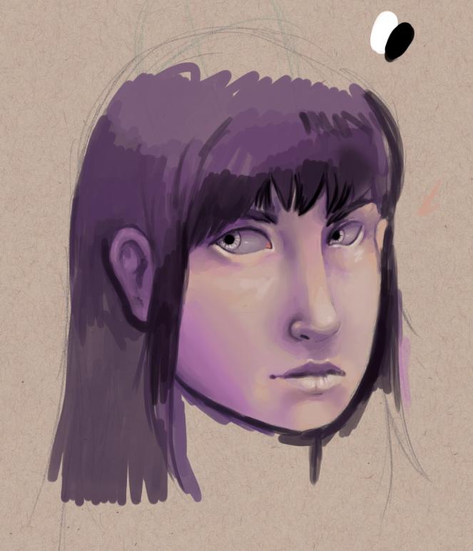 Brooke Portrait in Progress