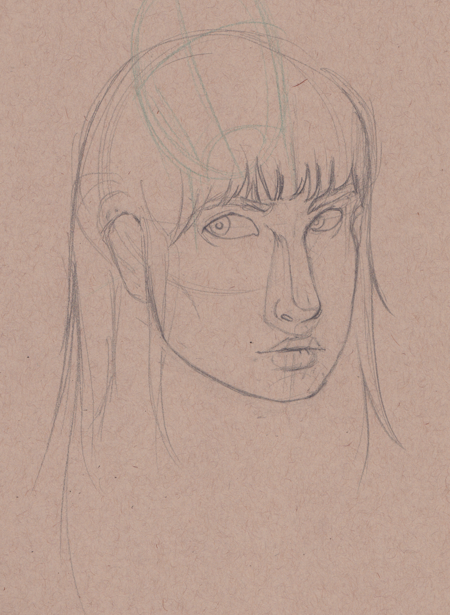 Brooke Portrait Sketch