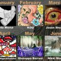 January through June 2017 Artists