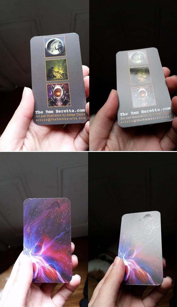 Spot UV on my business cards