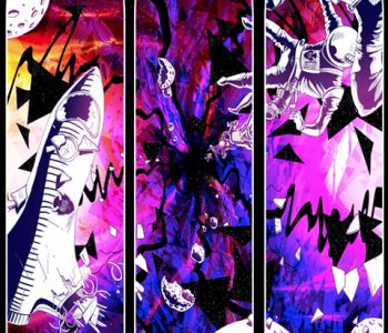 """The Black Hole Triptych"" Series"