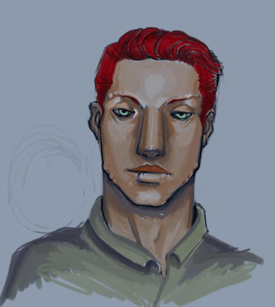 Sergeant Esco Color Doodle