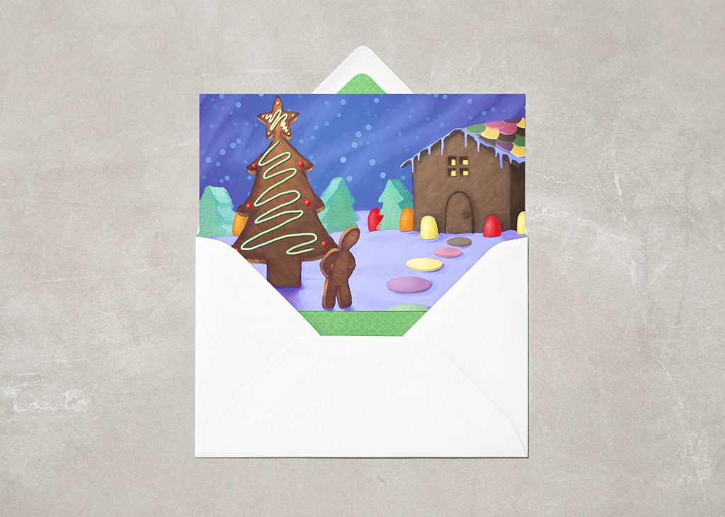 2012 Gingerbread Holiday Card