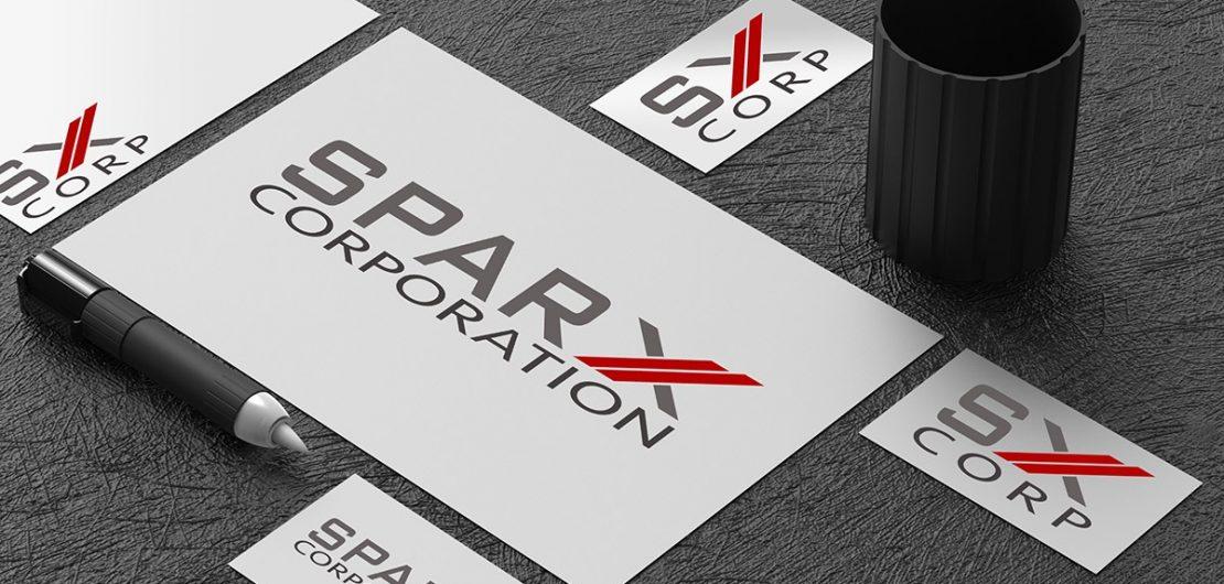 Sparx Corporation Logo and Fav Icon, 2018