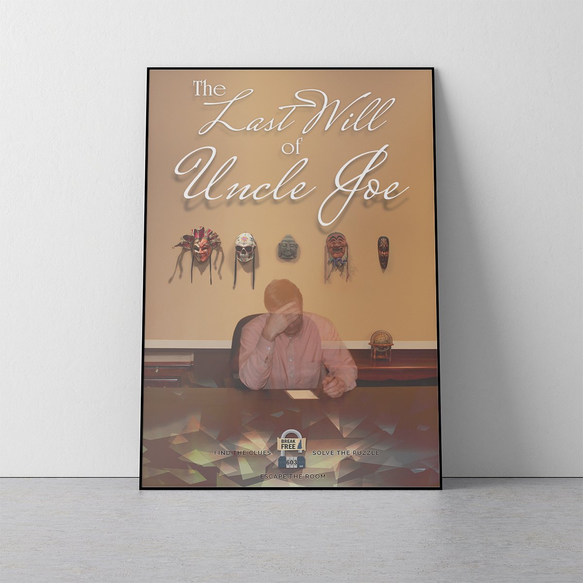 The Last Will of Uncle Joe Poster Mockup