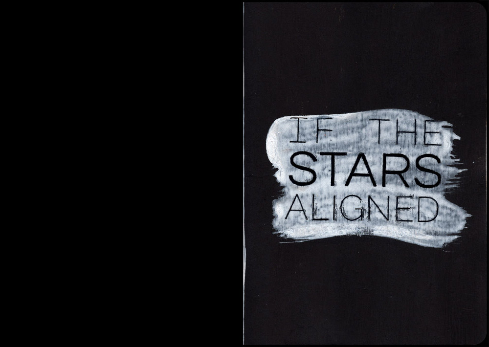 If the Stars Aligned Sketchbook Front Cover