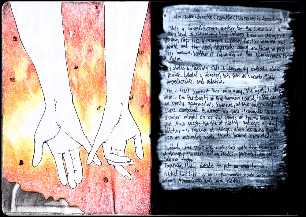If the Stars Aligned Sketchbook Page 32