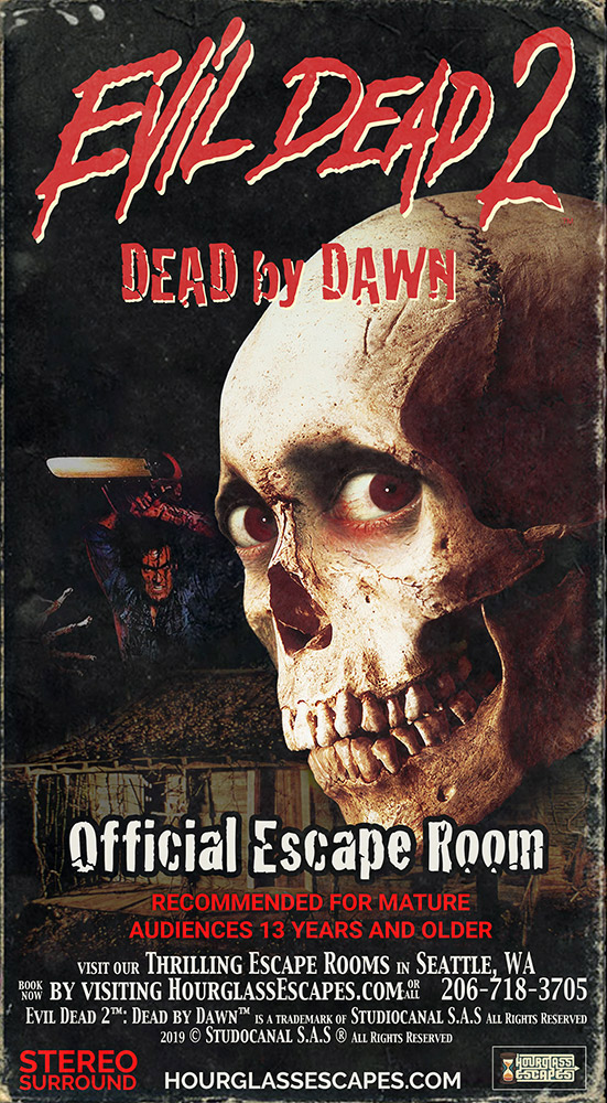 Evil Dead 2™ Mock VHS Box Art