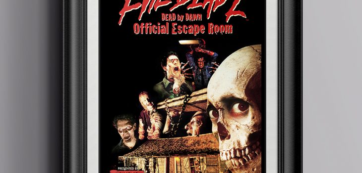 Evil Dead 2™ Escape Room Mockup Poster