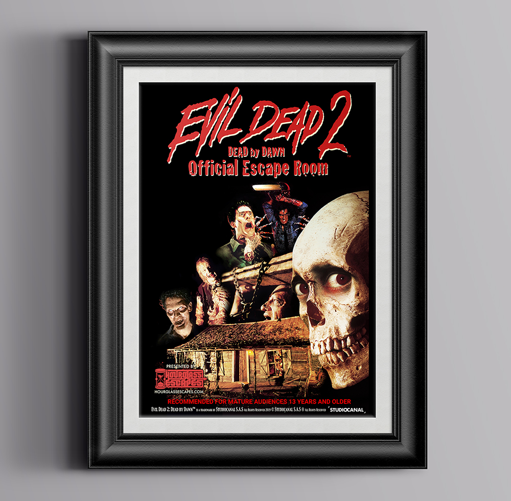 Evil Dead 2™ Escape Room Designs