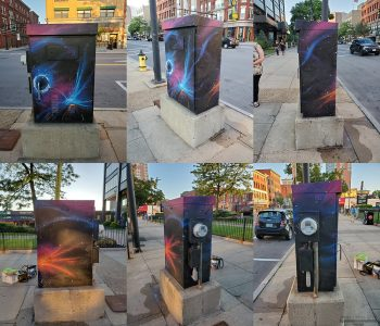 1000 Elm St Utility Box, Manchester, NH, 2019