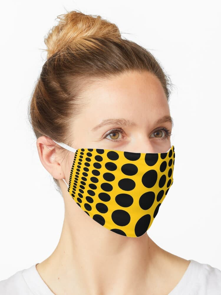 Infinity Dots Facemask