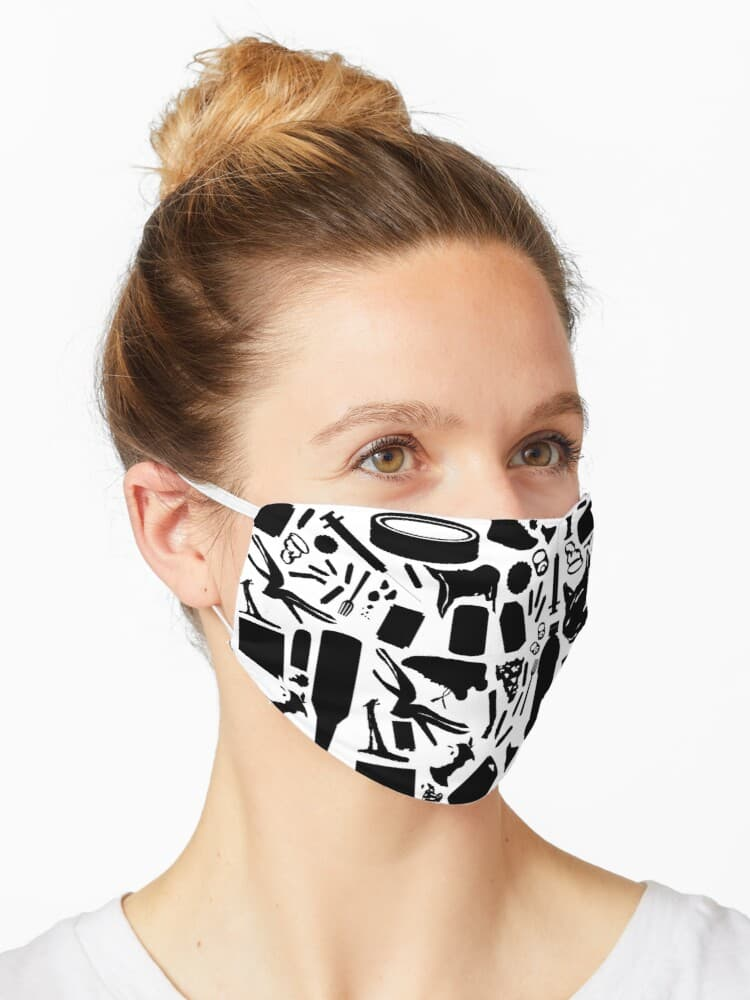 Trash facemask