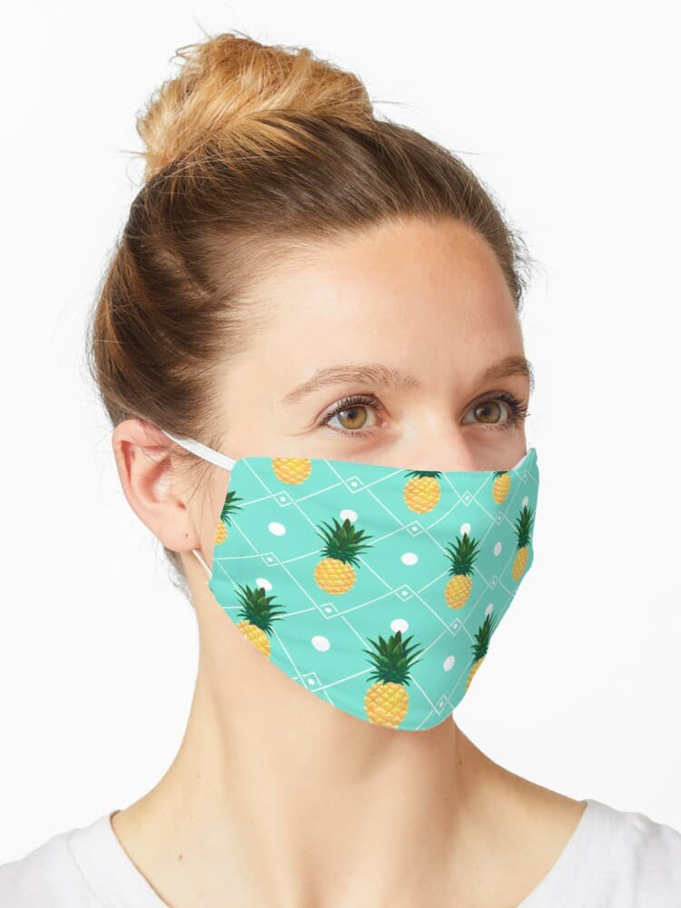 Pineapples Facemask